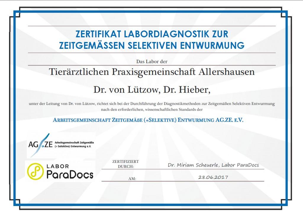 agze-zertifikat